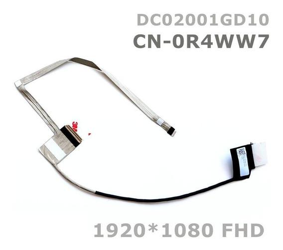 Cabo Flat Dell Inspiron 15r 5520 7520 P/ Telas Full Hd Fhd