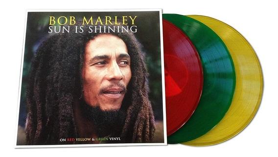 Lp Vinil Bob Marley Sun Is Shining Triplo Colorido