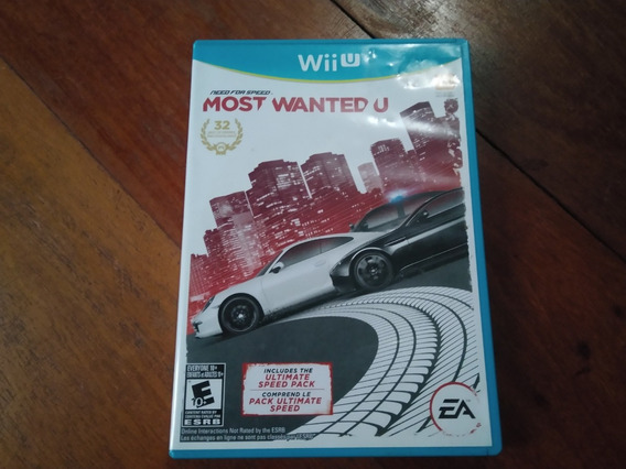 Need For Speed Most Wanted - Wii U