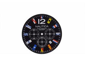 Mostrador Nautica A18636g Original P/ Relógio A18636 Flags