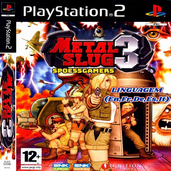 Metal Slug 3 Ps2 Desbloqueado Patch
