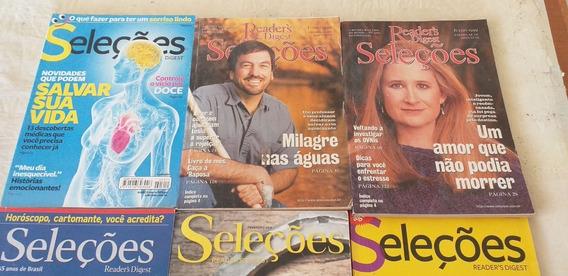 Lote Com 155 Revistas Seleções Reader´s Digest