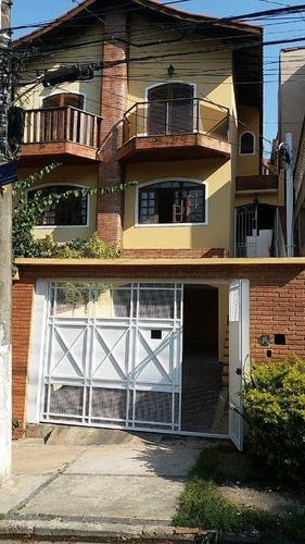 Imagem 1 de 13 de Sobrado Com 3 Dormitórios À Venda, 152 M² Por R$ 460.000 - Parque Monte Alegre - Taboão Da Serra/sp - So0183