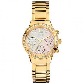 Relógio Guess Feminino Rosé Com Cristais 92551lpgsda1