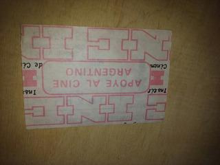 Boleto Oficial Cinematografico Del Año 1983
