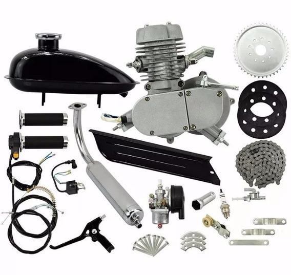 Super Kit Motor Completo P Bicicleta 80cc C/nota Fiscal +dsr