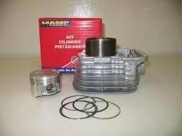 Kit De Motor Cg 125 92 A 99 Até 00 Cilindro+pistão+jg Anéis