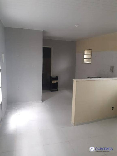 Imagem 1 de 9 de Casa Com 1 Dormitório Para Alugar, 50 M² Por R$ 800,00/mês - Campo Grande - Rio De Janeiro/rj - Ca1862