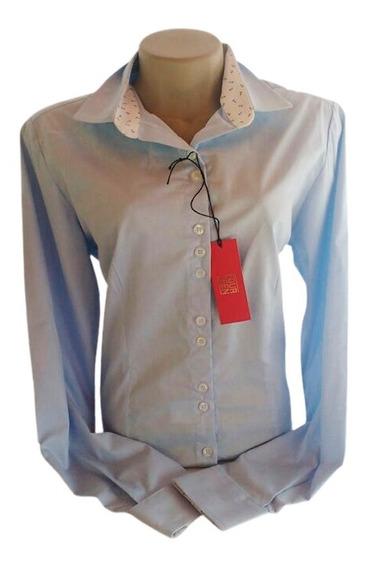 Camisa Social Slim Feminina Fourteen - Black Friday