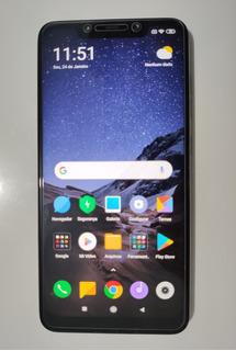 Xiaomi Pocophone F1 Dual Sim 128 Gb Graphite Black 6 Gb Ram