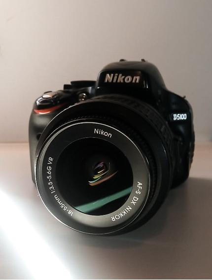 Nikon D5100 Kit 18-55mm + Batería Original Y Cargador
