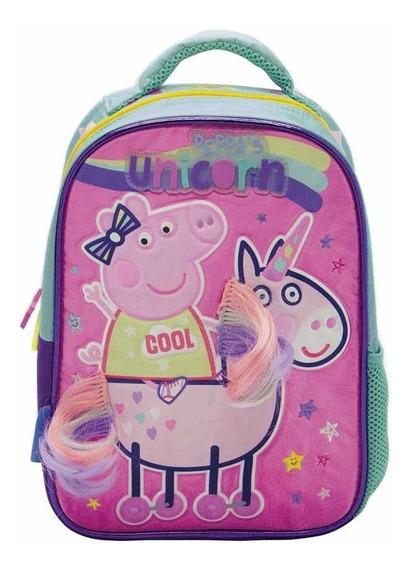 Mochila Peppa Pig 12 Pulgadas Pp039 Original!!
