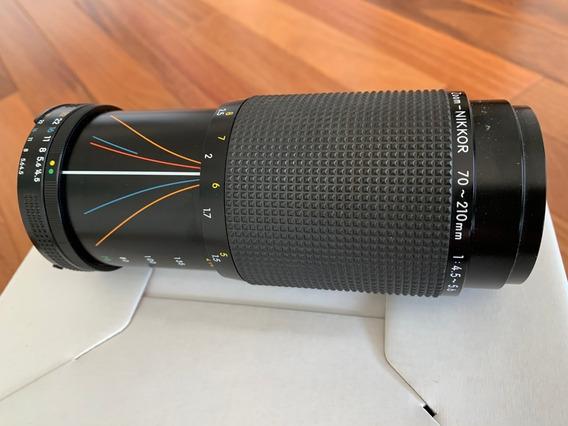Objetiva Nikon - Zoom Nikkor 70-210mm 1:4.5-5.6