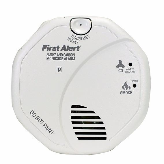 First Alert Brk Sc7010b Hardwire Alarma Humo Monoxido Carbon