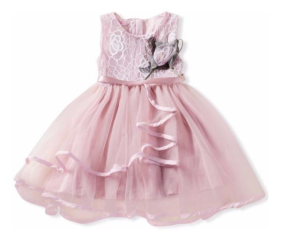 Vestido Nina Fiesta/paje/ Cumplea;os Talla (1 -3 Años )
