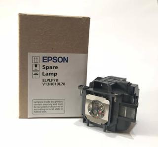 Lampara Epson Original Elplp78/v13h010l78 Con Carcasa