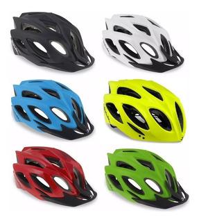 Capacete Ciclismo Spiuk Rhombus - 6 Cores - 12x Sem Juros