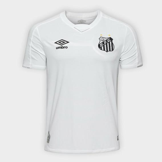 Camiseta De Santos (titular 2019/2020) Talle X L
