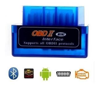 Scanner Automotriz Elm 327 Obd2 Bluetooth Escaner Obdll