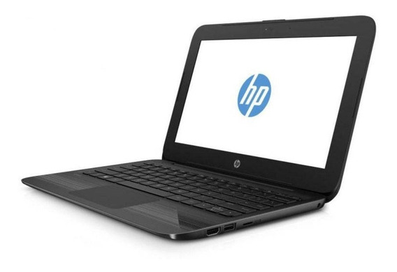 Notebook Hp Celeron N4000 4gb Ssd 32gb Win10 Tela 11.6 11-a