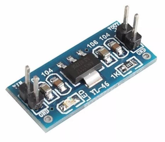 Modulo Regulador Tensão Ams1117 De 4.5v~7v Para 3.3v Esp8266