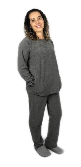 Pijama Soft Glacê Adulto