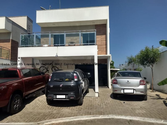 Casa Em Condomínio Para Venda Em Teresina, Morros, 5 Dormitórios, 5 Suítes, 6 Banheiros, 4 Vagas - Casa Piazza Del Campo