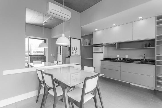 Apartamento Em Brooklin, São Paulo/sp De 63m² 1 Quartos À Venda Por R$ 890.000,00 - Ap271875