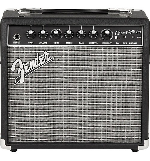 Amplificador Guitarra Electrica Fender Champion 20w