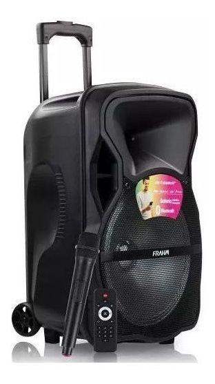 Caixa De Som Frahm Cm600bt 600w Bluetooth 1 Microfone