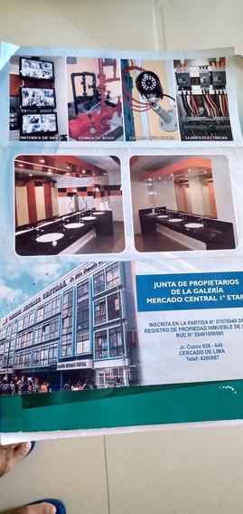 Alquilo Stand Comercial En Galeria Mercado Central 950 Soles