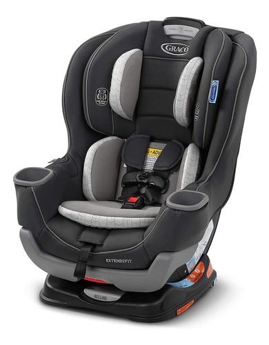 Silla Carro Graco Extend2fit Platinum Para Bebe
