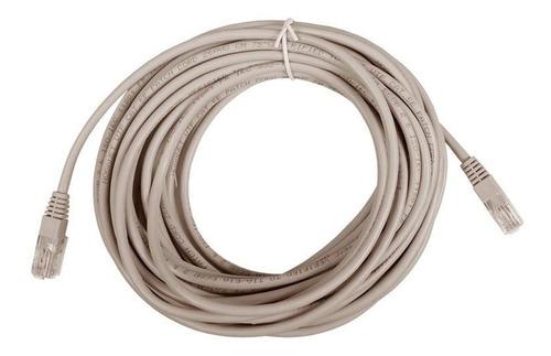 Cable De Red Patch Cord Noganet 10 Mt Armado Utp Cat.5e Rj45