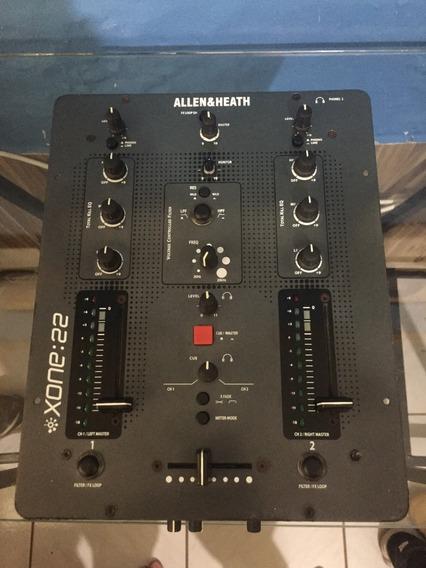 Allen & Heath Xone: 22 Mixer Dj