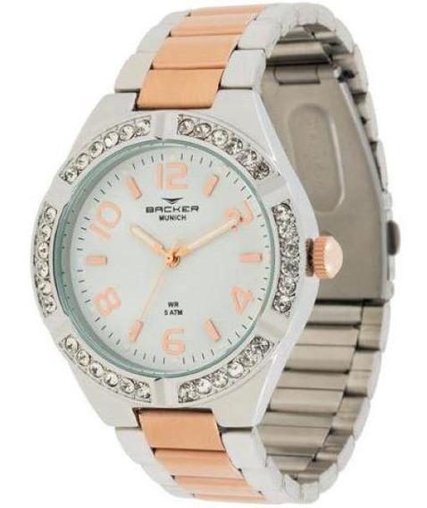 Relógio Backer 3925134f Br Munich
