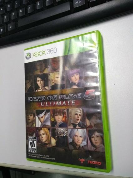 Dead Or Alive 5 Ultimate Xbox 360 Midia Fisica