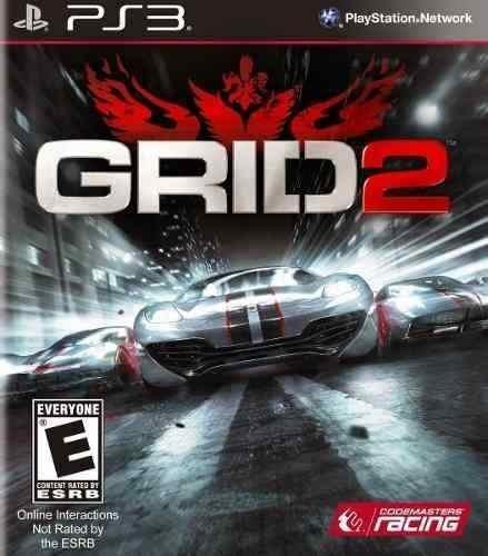 Grid 2 Portugues - Jogos Ps3 Playstation 3