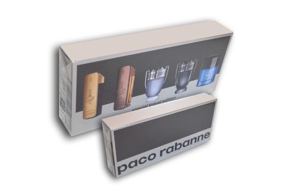 Kit 5 Perfumes Paco Rabanne Masculino Original Nota Fiscal