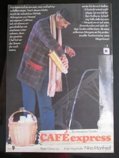 Cafe Express Nino Menfredi Nanny Loy Cartaz Italia Ddr 1982