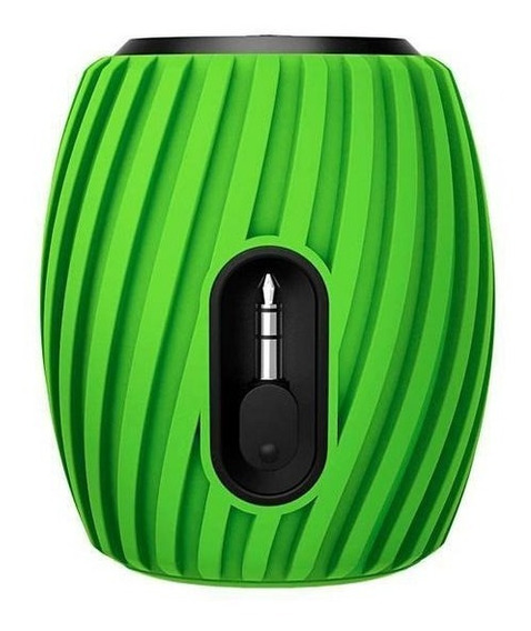 Mini Caixa De Som Speaker Philips Sba3011 Usb Verde