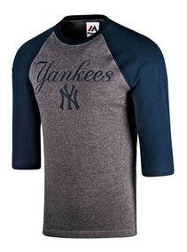 Playera Hombre Ny Yankees Mffr183bnk Oferta