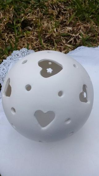 Esfera De Porcelana Fina Para Iluminar O Pintar