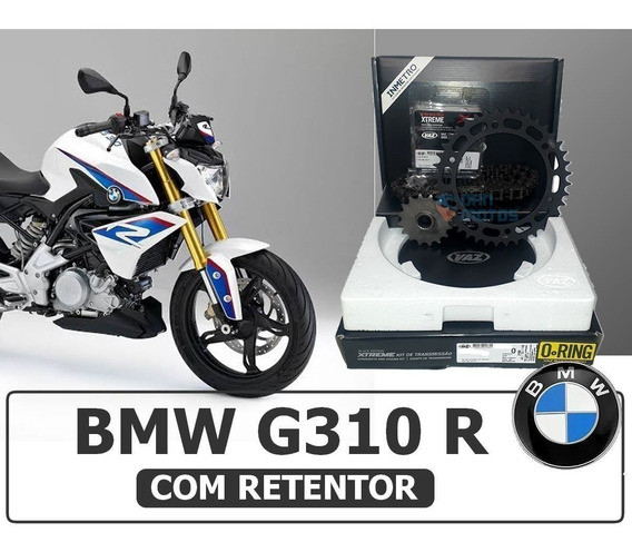 Kit Transmissão Bmw G310r - G310 R C/ Retentor