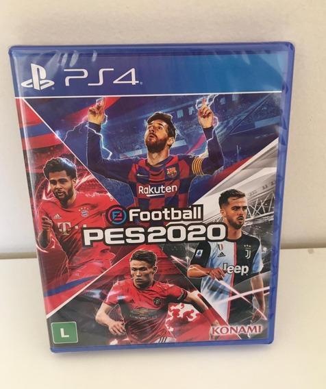 Jogo Game Pes 2020 Efootball Pro Evolution Midia Fisica Ps4