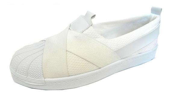 Zapatillas Unisex, 35 A 41, Sin Abrojo, S/cordon