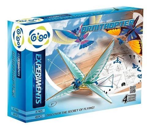 Juguete Energia Sustentable Gigo 7405 Ornitoptero Armar Full