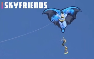 Papalote Batman Skyfriends Kite