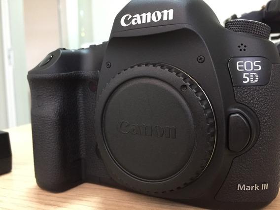 Câmera 5d Mark Ill Com Pouco Uso