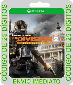 Tom Clancys The Division 2 - Edição Gold- Código 25 Dígitos