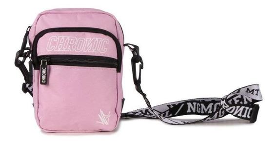 Mini Bolsa Lateral Shoulder Bag Chronic Rosa Pink Feminina